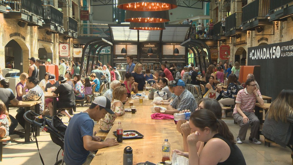 The Forks Market has seen a massive increase in foot traffic during the Canada Summer Games.