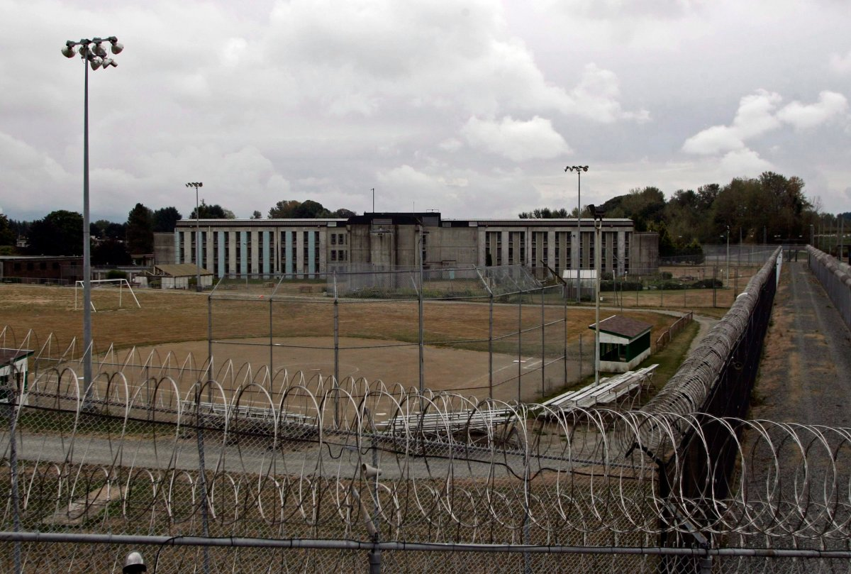 The medium-security Matsqui prison in Abbotsford, B.C., is shown on Sept. 14, 2006.