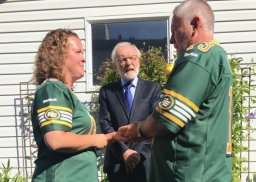 Continue reading: Die-hard Edmonton Eskimos fans get married just before Labour Day Classic