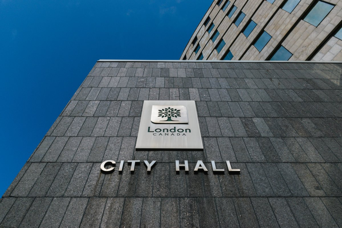 The London city councillor's comments were made at a meeting of the corporate services committee.