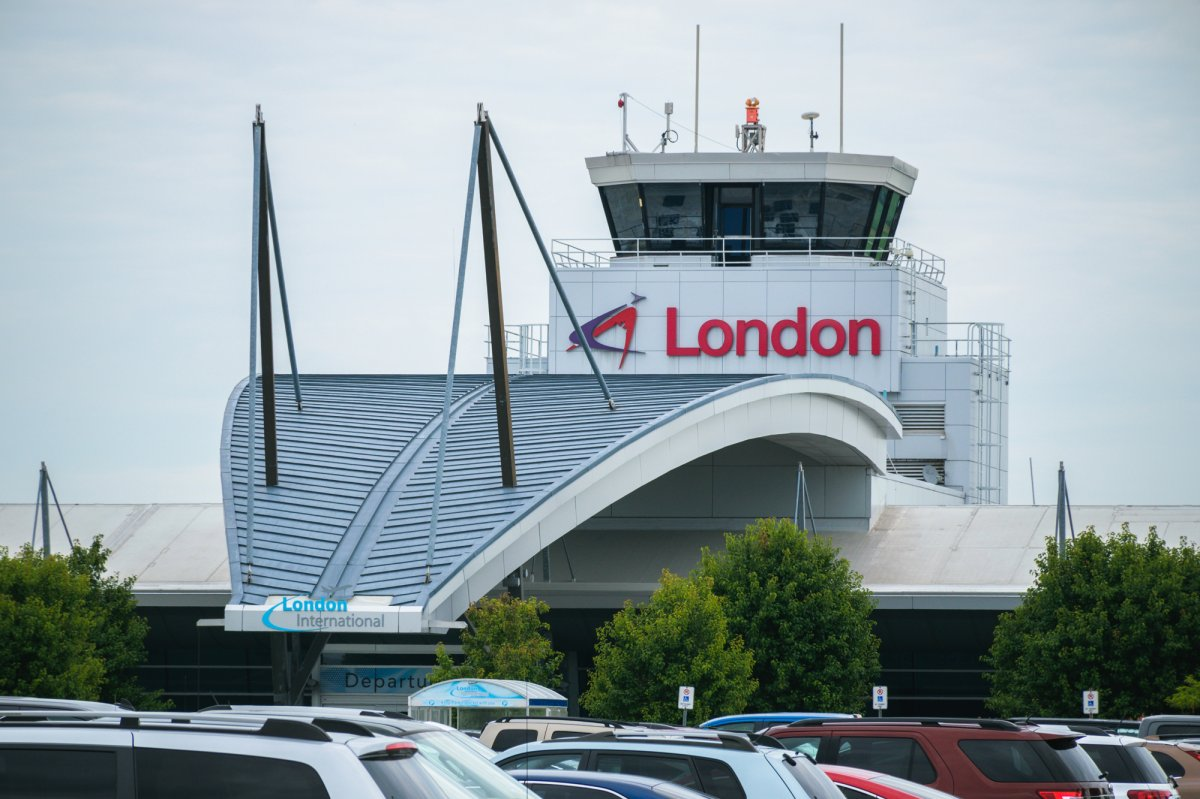FILE - London International Airport on July, 19, 2017.