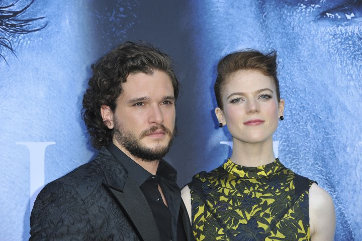 Kit Harington and Rose Leslie, 'Game of Thrones' stars, are engaged - image