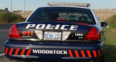 Woodstock police cruiser.