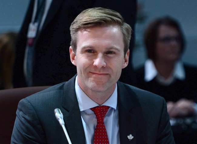 New Brunswick Premier Brian Gallant waits for the start of the meeting of First Ministers in Ottawa on Friday, Dec. 9, 2016.