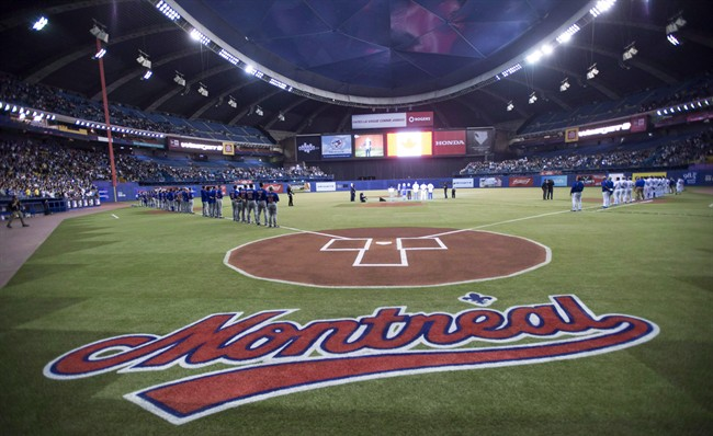 It's the sixth straight year that the Blue Jays have played exhibition games at Olympic Stadium.
