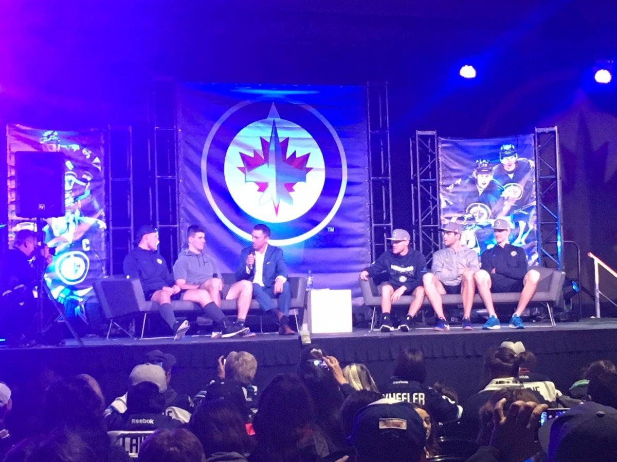 4th annual Winnipeg Jets Fan Fest draws thousands.