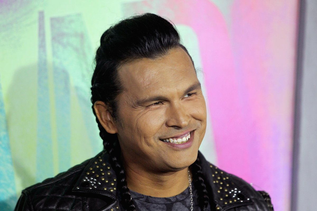 "Actor Adam Beach attends the ""Suicide Squad"" world premiere at The Beacon Theatre on August 1, 2016 in New York City."