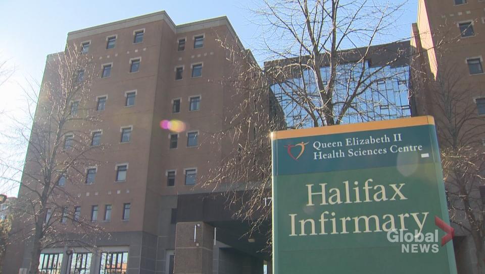 Halifax Infirmary.