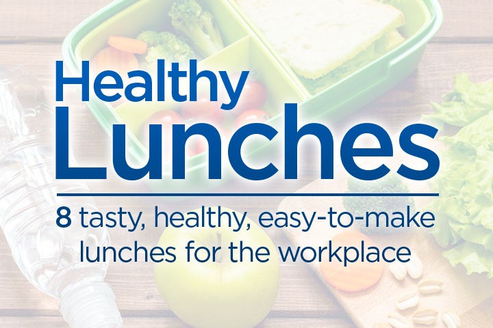 8 tasty, healthy, easy-to-make lunches for the workplace - image
