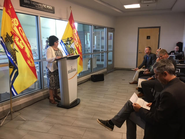 New Brunswick Seniors Minister Lisa Harris announces next steps in building new 60-bed Fredericton nursing home.