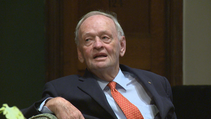 Former prime minister Jean Chretien says Canada is in a better position now to renegotiate NAFTA.