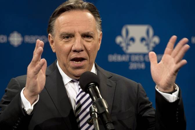 Pollsters have indicated the CAQ can win the Oct. 1 provincial election without any of the 27 ridings on the island of Montreal. File photo.