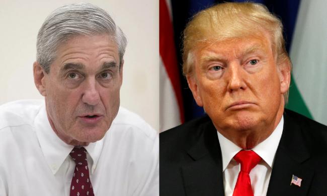 Robert Mueller and Donald Trump .