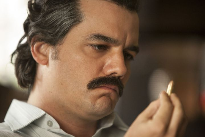 The infamous drug lord Pablo Escobar played by Wagner Moura in the second season of 'Narcos.'.