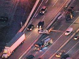 Continue reading: Multi-vehicle crash on Port Mann Bridge with car ending up on concrete barrier