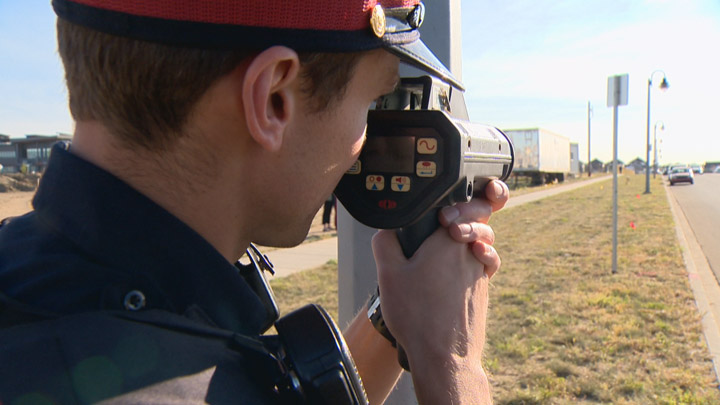 Saskatoon police hand out 106 tickets to drivers speeding in school zones.