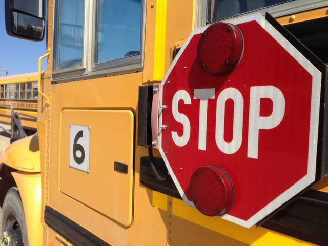 Rimbey/Thorsby RCMP arrested two people after a crime spree involving a stolen school bus.