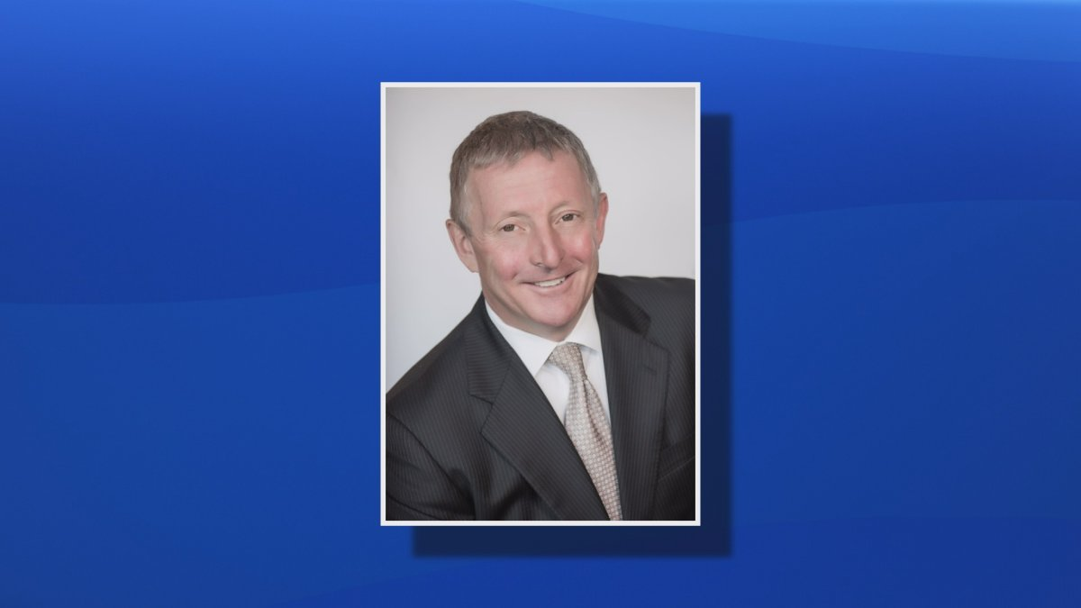 A photo of Stephen D'Arcy who is now on paid leave as part of a decision by the IWK's board of directors.