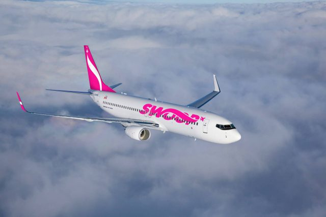 Swoop says it will fly from Hamilton to Jamaica between December and April.