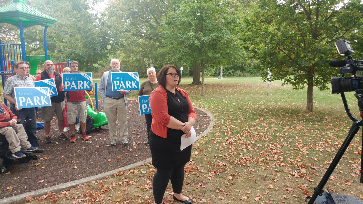 City councillor Tanya Park announces she will seek the Ontario NDP nomination in London North Centre.
