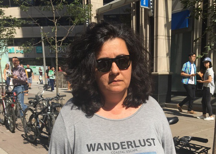 Zeljna Kosovac, 50, accused of criminal negligence causing death, appears in court on Sept. 23, 2017.