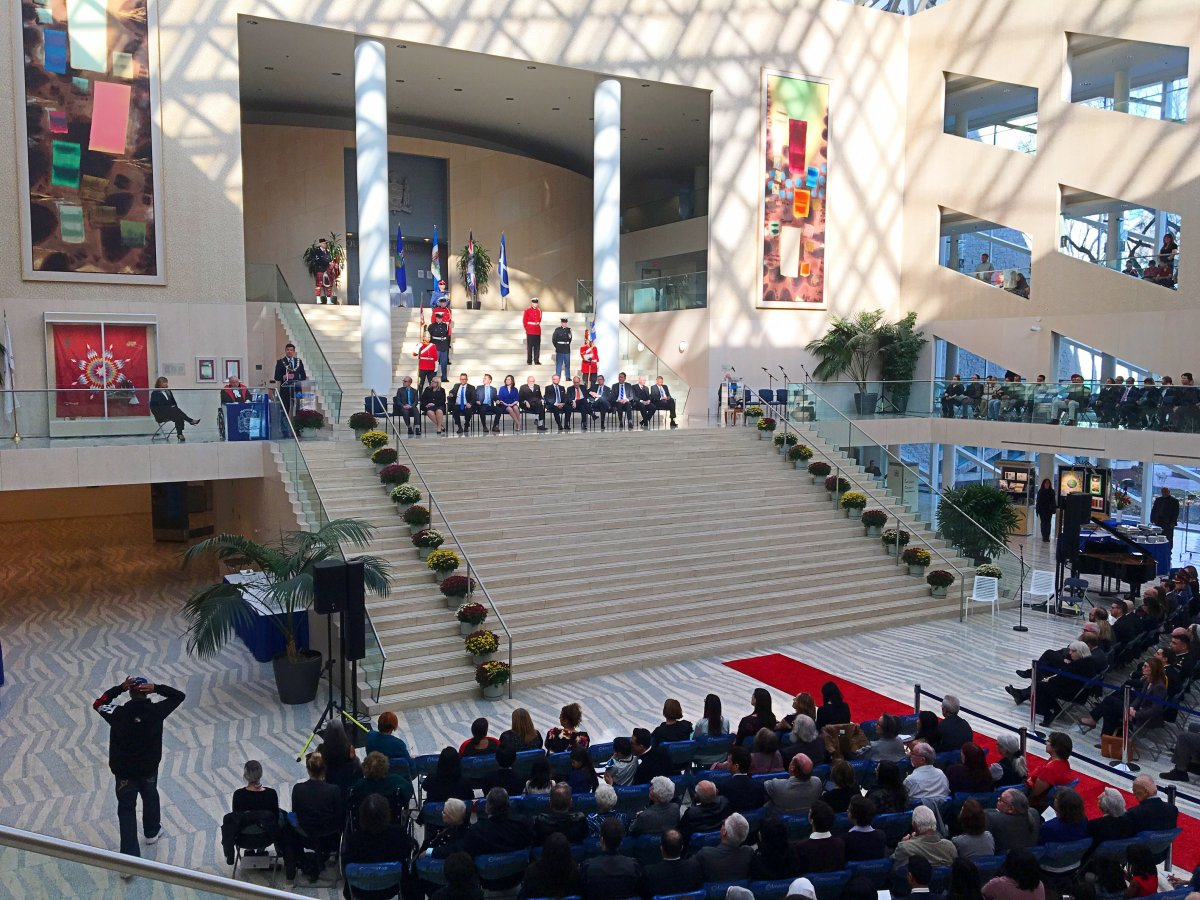 The new Edmonton City Council is sworn in on Tuesday, Oct. 24, 2017.