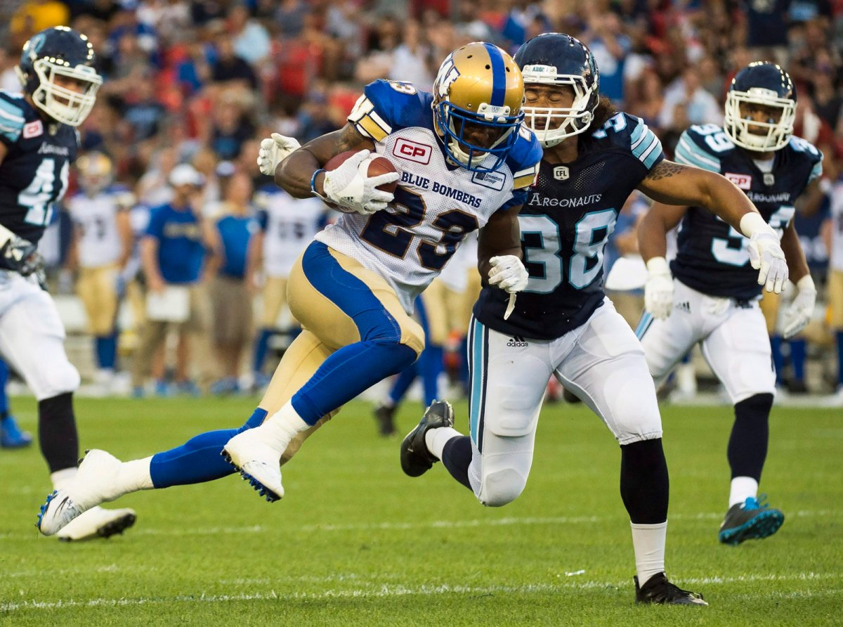 BLOG: How are the Blue Bombers looking ahead of away game against the Argos?  - Winnipeg | Globalnews.ca