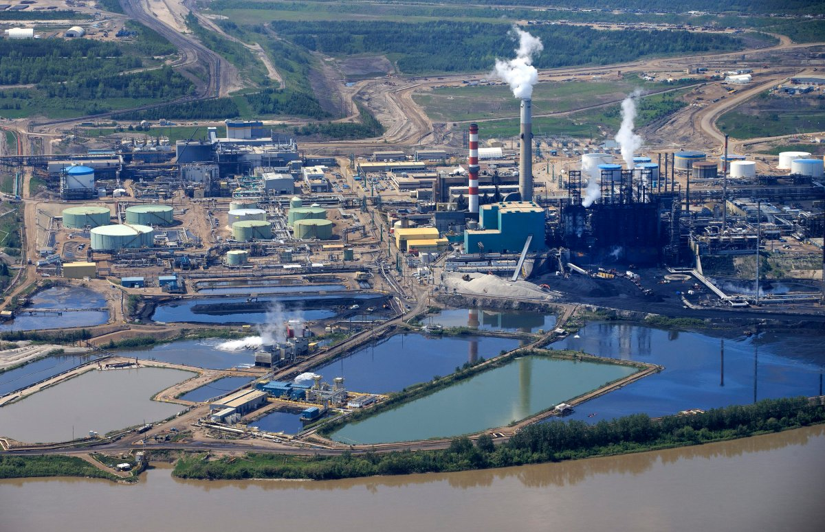 Upgrading plant at the Suncor Energy Oil Sands project near Fort McMurray, Alberta on Tuesday, June 13, 2017.