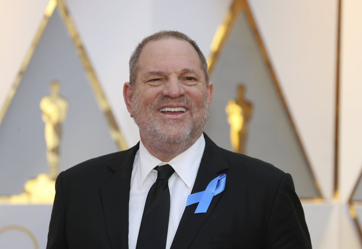 FILE PHOTO: Harvey Weinstein poses on the Red Carpet after arriving at the 89th Academy Awards in Hollywood, California, U.S., February 26, 2017.