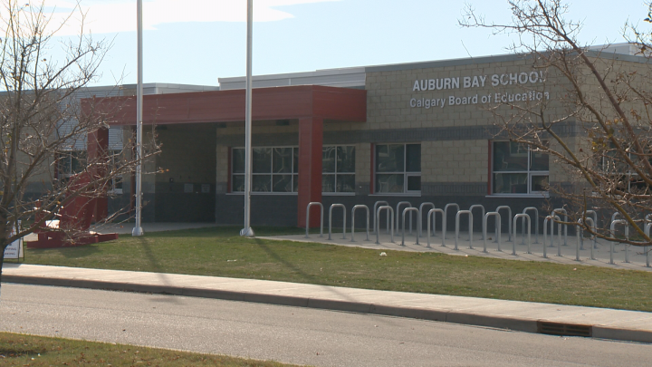 Alberta Health Services is advising students, parents and staff about a COVID-19 outbreak at Auburn Bay School in southeast Calgary.