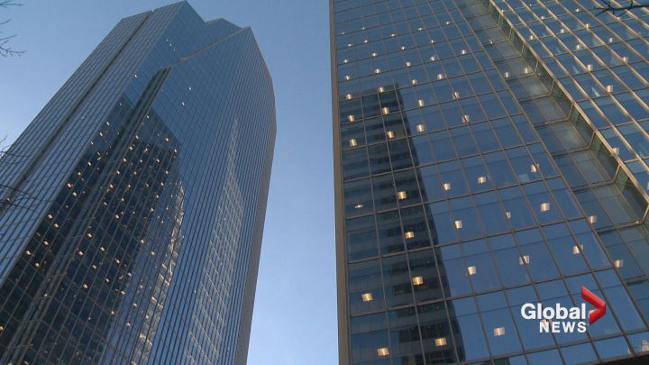 New report says Calgary's downtown office market is attracting more business.