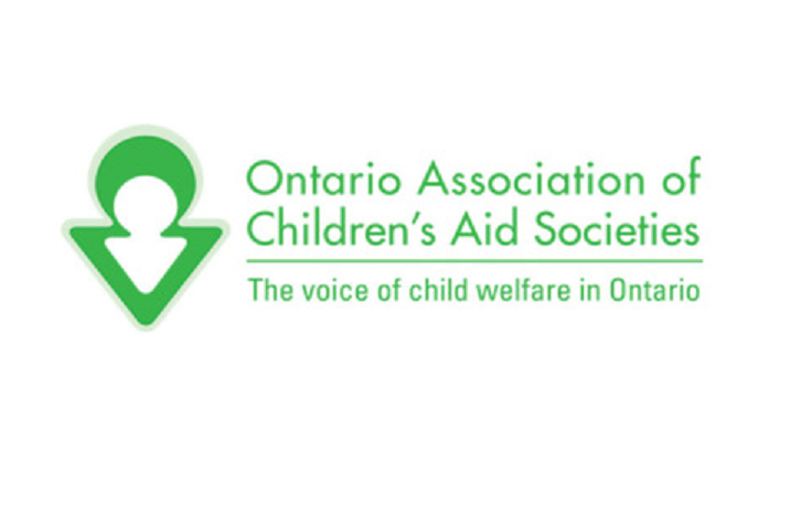Logo for the Ontario Association of Children's Aid Societies.