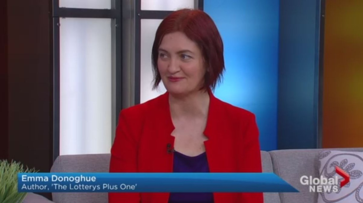 Emma Donaghue, as seen on Global News on March 30, 2017.