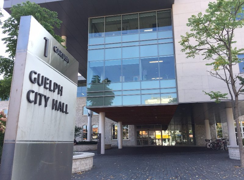 The ServiceGuelph counter at city hall is expected to reopen on Tuesday.