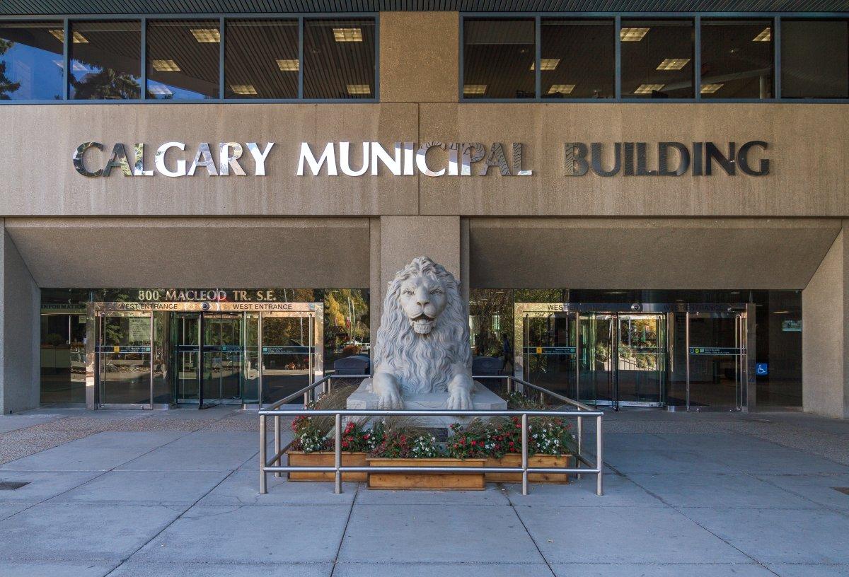 Calgary City Hall fall 2017