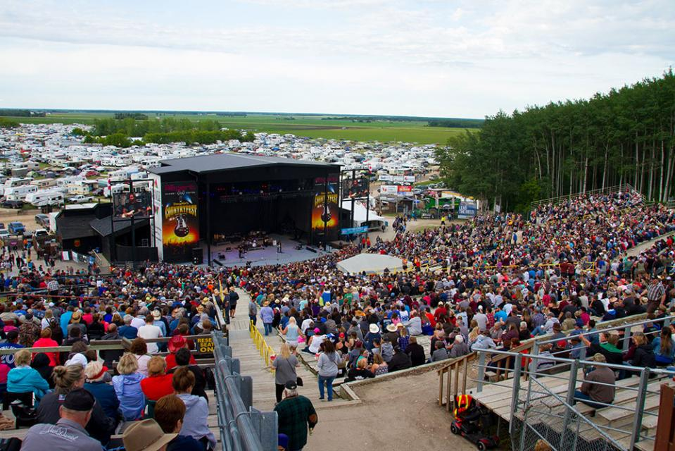 Festival-goers take in the sights and sounds of Countryfest 2017.