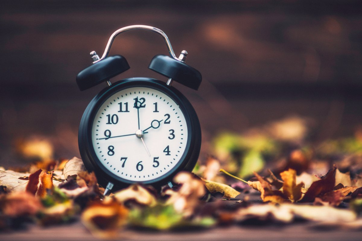 The first weekend in November is when many Canadians will be changing their clocks.