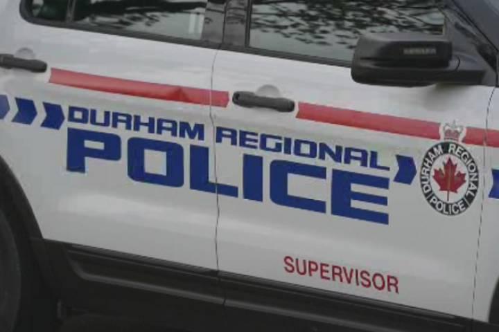 Durham Regional Police Cruiser.