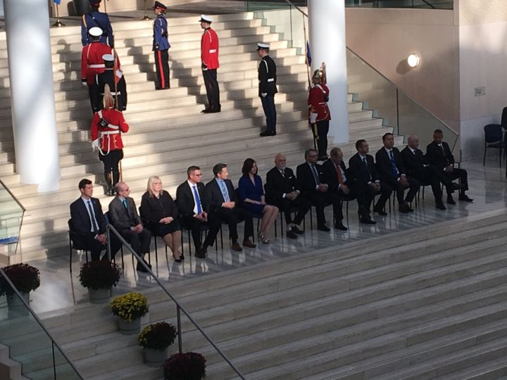 Edmonton City Council sworn in at a ceremony at city hall Tuesday, Oct. 24, 2017.