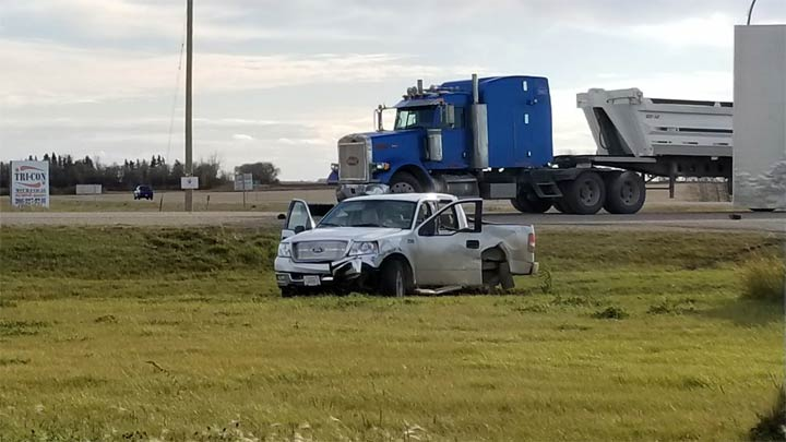 Greenwater RCMP say two people are dead after a two-vehicle crash at the junction of highways 38 and 49 on Saturday.
