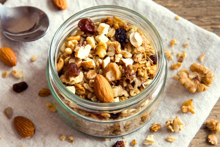 A file photo of granola, which according to the FDA is not made from love.