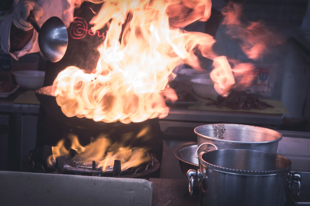 Deep frying isn't the only way to set your turkey on fire.