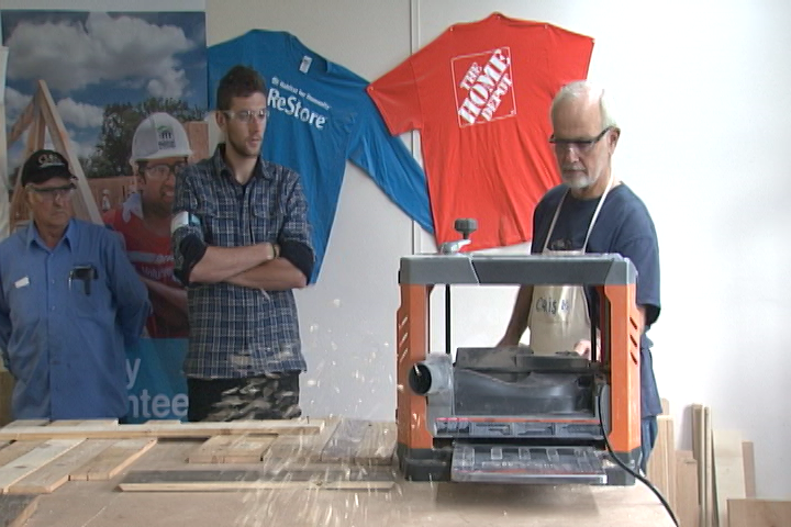Habitat for Humanity Kingston's woodworking classes a first in Canada - image