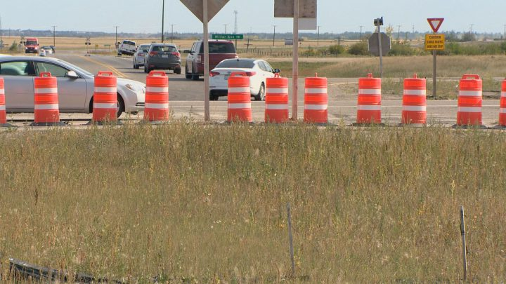 Restrictions put in place at Highway 11 and Wanuskewin Road appear to be helping safety at the dangerous intersection.