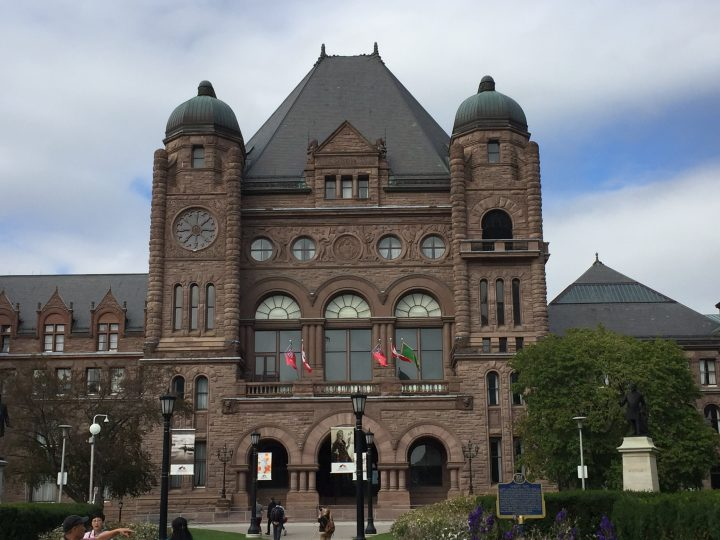 File photo of Queen's Park in Toronto.