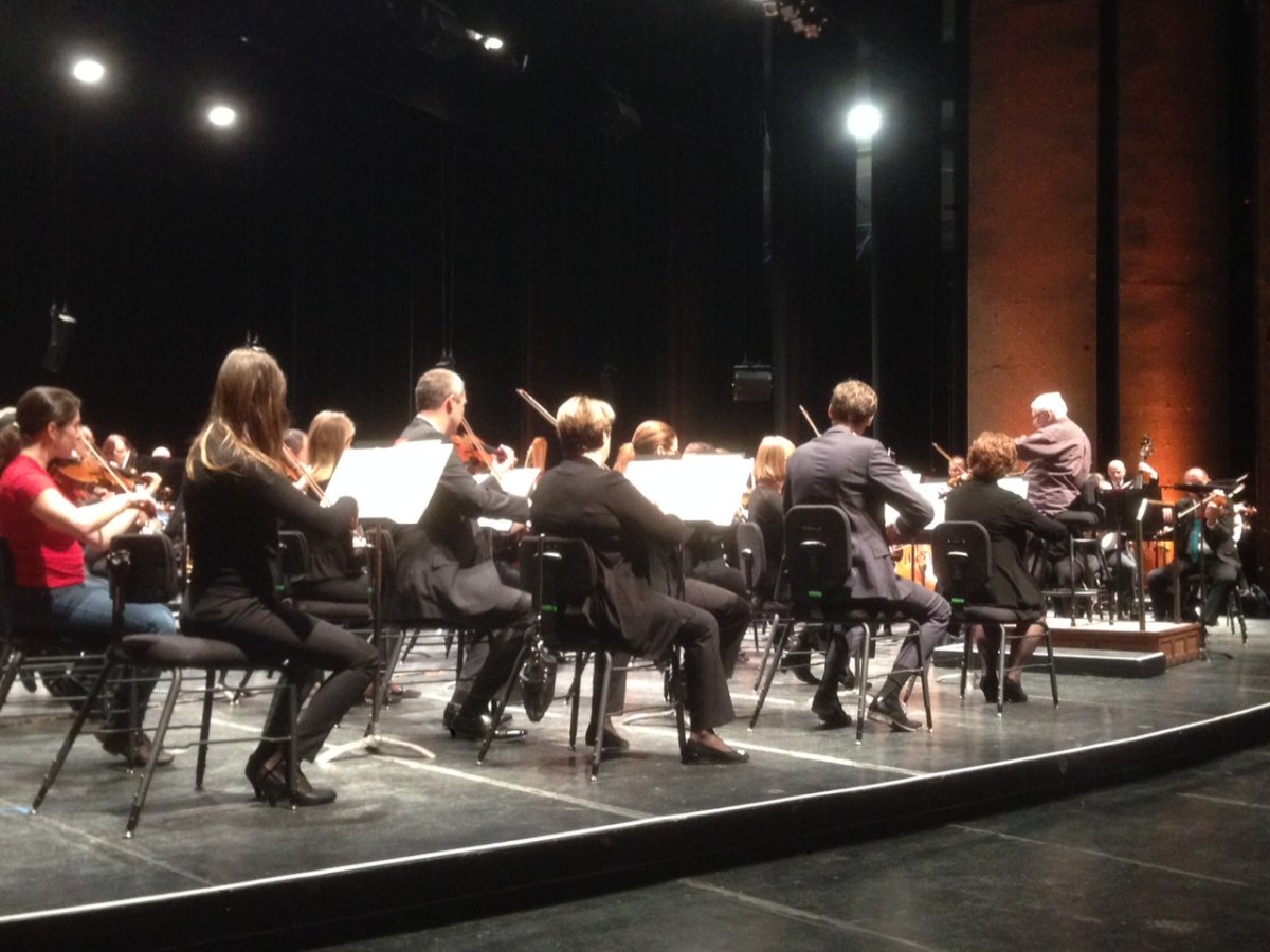 Members of the Winnipeg Symphony Orchestra.