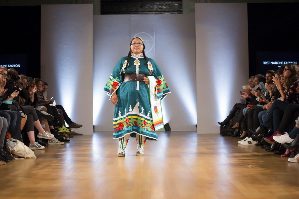 First Nation S Fashion Designer Returns To Okanagan Following Paris Runway Show Globalnews Ca