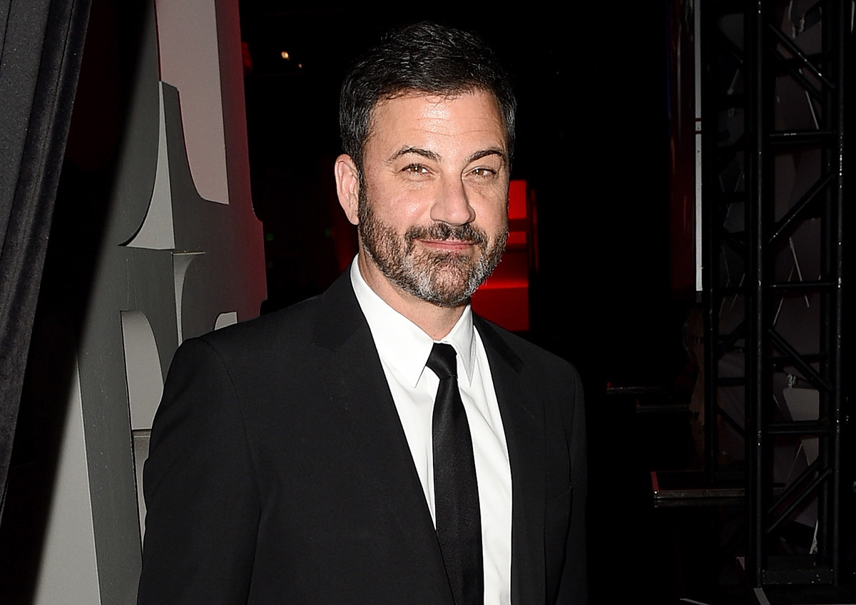 Host Jimmy Kimmel attends Los Angeles LGBT Center's 48th Anniversary Gala Vanguard Awards at The Beverly Hilton Hotel on September 23, 2017 in Beverly Hills, California.