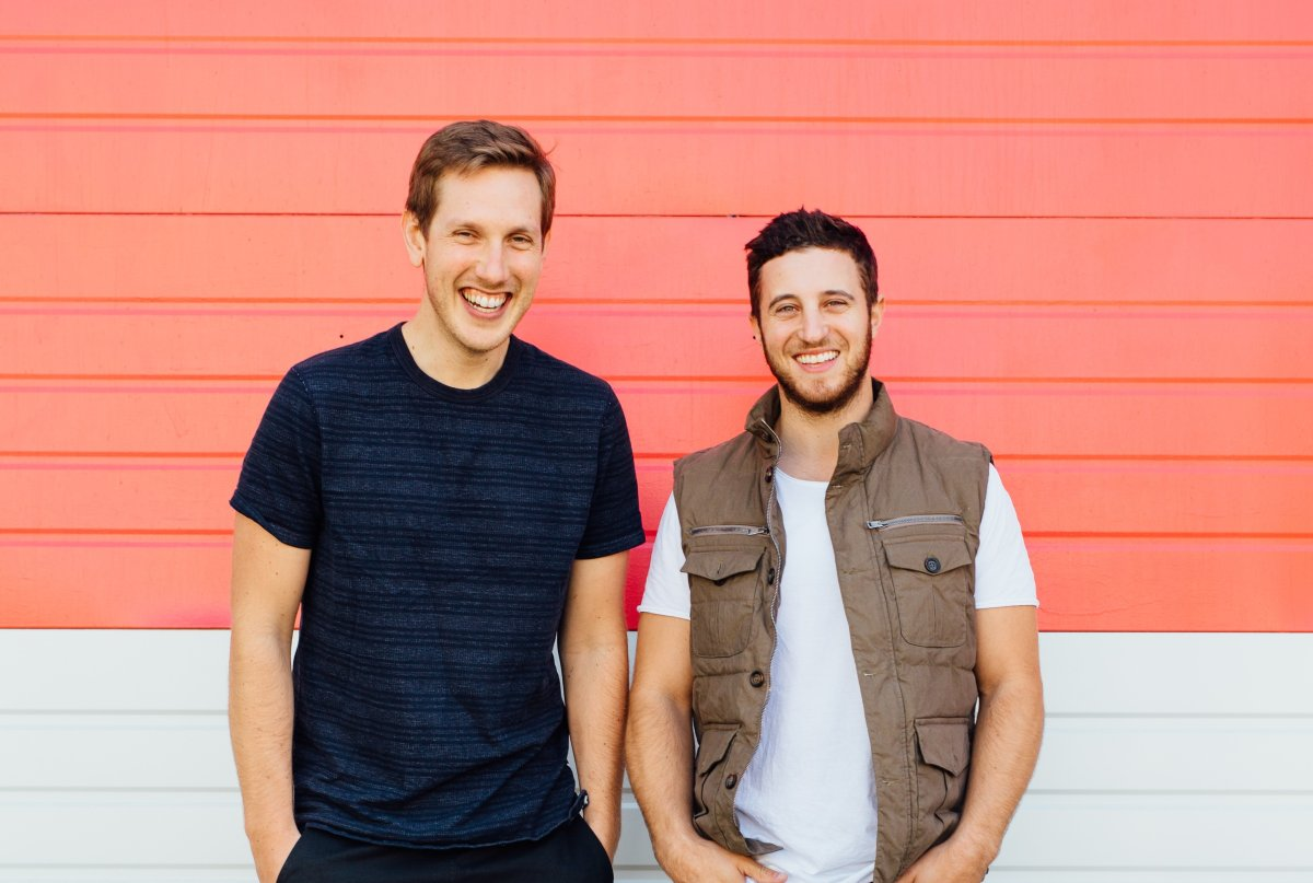Juice Truck founders Zach Berman (left) and Ryan Slater (right).
