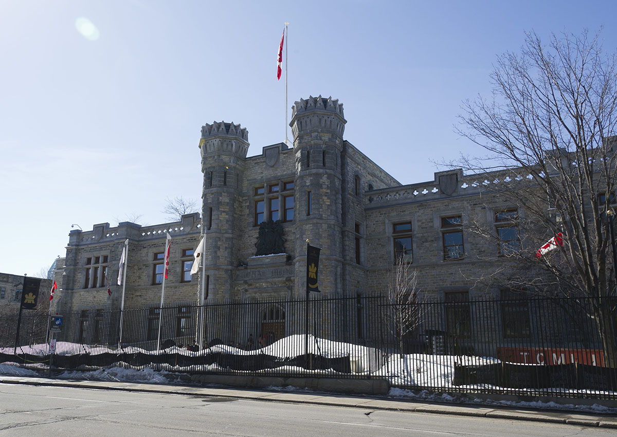 The Royal Canadian Mint building in Ottawa is pictured on Sussex Drive, March 9, 2013.